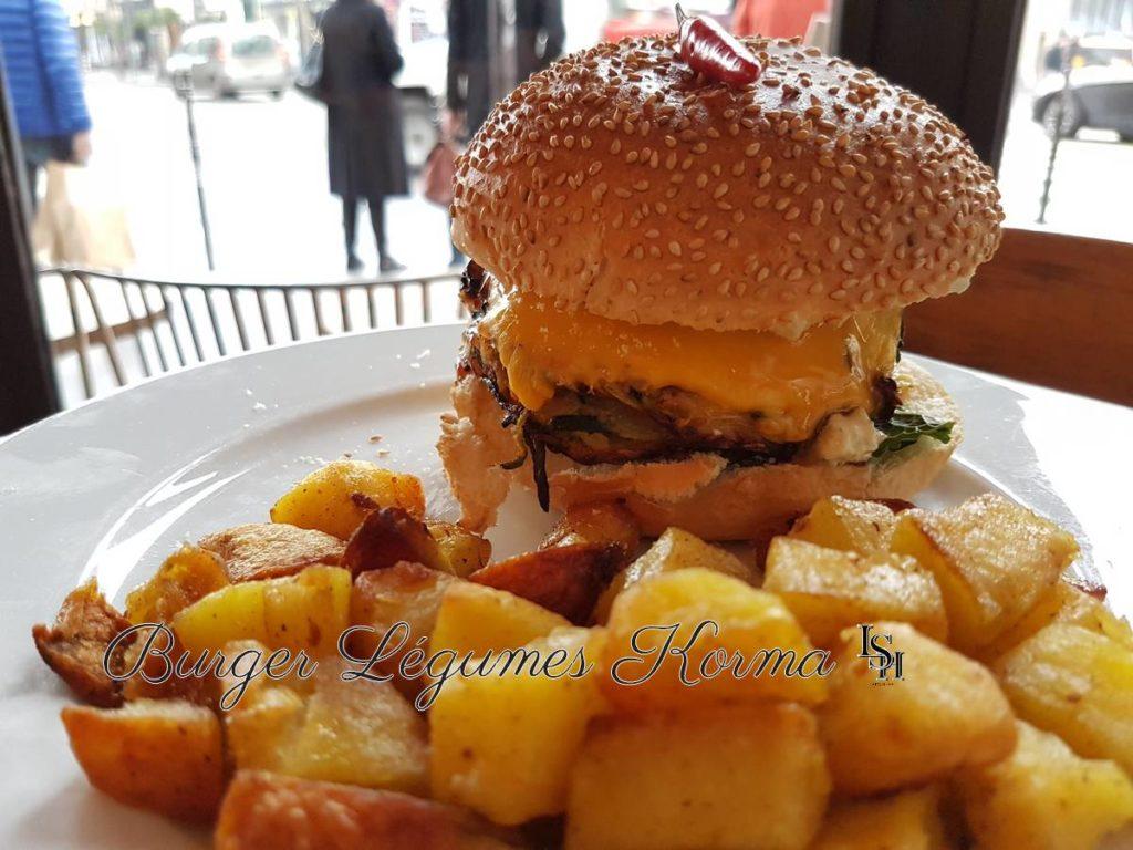 Burger végétarien à Paris