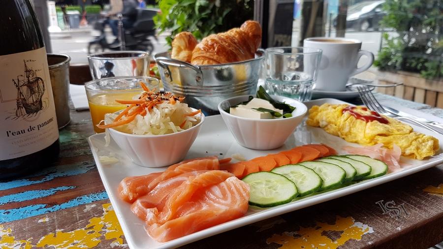 Petit-dejeuner à Paris