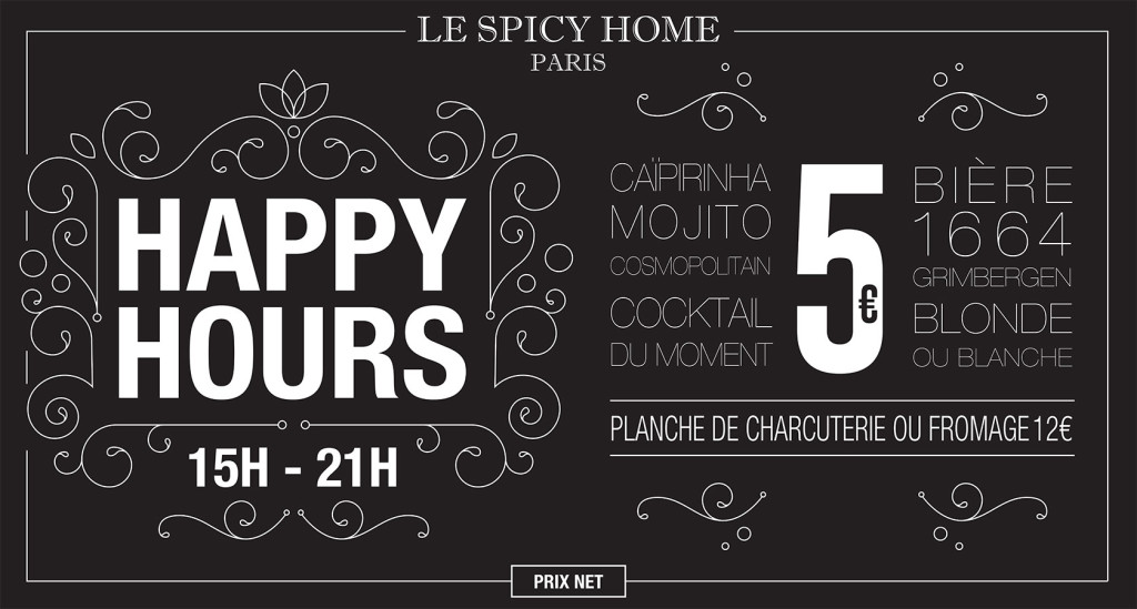 happy hour paris